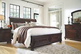 porter queen sleigh bed ashley furniture homestore