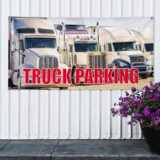 100 Heavy Duty Truck Parking Amazoncom Vinyl Banner Sign Business