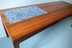 coffee table ceramic coffee table rosewood with mosaic