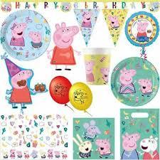 partysets peppa wutz kindergeburtstag deko dekoration