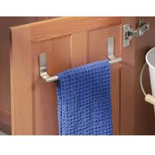 Bathroom Towel Bar Placement by Amazon Com Interdesign Forma Self Adhesive Towel Bar Holder For