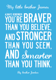 Inspiring Words Print For Kids Personalised Canvas Or Poster