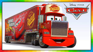 100 Lightning Mcqueen Truck MACK Truck Cars Disney From The Cars Movie And Game Friend Of