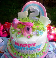 Themes Birthday My Little Pony Cake Sams Club To her With