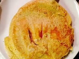 gesunde dinkel pfannkuchen mit mandelmilch und sukrin