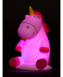 Despicable Me Fluffy Unicorn Illumi Mate Colour Changing Light