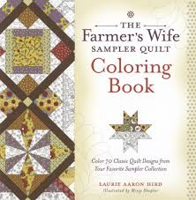 Farmers Wife Sampler Quilt Coloring Book
