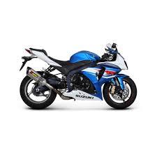 pot gsr 600 échappements akrapovic pour motos suzuki tech2roo