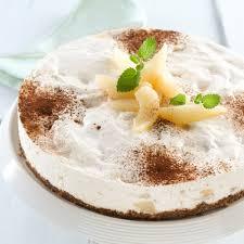 philadelphia rezept birne schokolade cheesecake