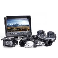 Rear View Camera System - Three Backup And Side Camera System With ... 7inches 24ghz Wireless Backup Camera System For Trucks Ls7006w Zsmj And Monitor Kit 9v24v Rear View Cctv Dc 12v 24v Wifi Vehicle Reverse For Cheap Safety Find 5 Inch Gps Backup Camera Parking Sensor Monitor Rv Truck Winksoar 43 Lcd Car Foldable Wired 7inch 4xwaterproof Rearview Mirror 35 Screen Parking C3 C4 C5 C6 C7 Corvette 19682014 W 7 Pyle Plcmdvr8 Hd Dvr Dual Best Rated In Cameras Helpful Customer Reviews Three Side With