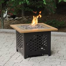 slate tile and faux wood square pit for 469 95 by uniflame