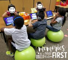 Ball Seats For Classrooms by Memories Made In First Flexible Seating In Action