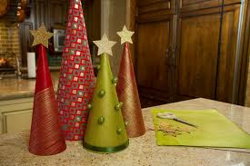 Tabletop Live Christmas Trees by Wrapping Paper Christmas Trees Let U0027s Craft With Modernmom 12