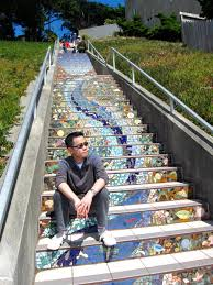 16th Avenue Tiled Steps In San Francisco by San Francisco The 16th Avenue Tiled Steps Project Incoherentboy