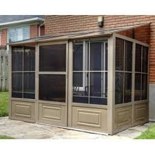 patio mate 10 panel screen enclosure 09322 patio mate 10 panel screen enclosure 09165 brown