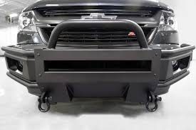100 Truck Bumpers Aftermarket Motor City CLFB15 Black Front Bumper Guard