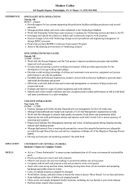 Site Operations Resume Samples   Velvet Jobs 12 Operations Associate Job Description Proposal Resume Examples And Samples Free Logistics Manager Template Mplates 2019 Download Executive Services Professional Food Templates To Showcase Example Vice President For An Candidate Retail How Draft A Sample Restaurant Fresh Educational Director Of 13 Transportation