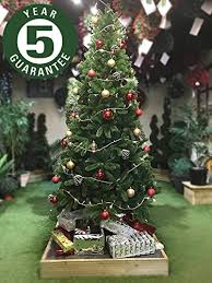 Best 7ft Artificial Christmas Tree by Best Artificial Slim Premium 7ft 205cm Real Feel Hinged