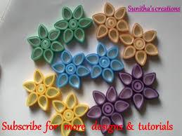 Quilling Paper Flower Designs