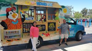 Kona Ice: A Cool, Successful Business Concept | News ... Kona Ice Truck Stock Photo 309891690 Alamy Breaking Into The Snow Cone Business Local Cumberlinkcom Cajun Sisters Pinterest Island Flavor Of Sw Clovis Serves Up Shaved Ice At Local Allentown Area Getting Its Own Knersville Food Trucks In Nc A Fathers Bad Experience Cream Led Him To Start One Shaved In Austin Tx Hanfordsentinelcom Town Talk Sign Warmer Weather Is On Way Chain