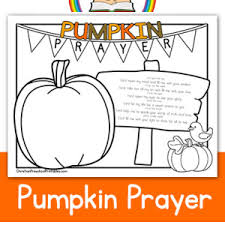 Pumpkin Patch Parable Printable by Pumpkin Prayer Coloring Page Sunday Pinterest Sunday