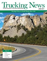 June 2017 Trucking News By South Dakota Trucking Association - Issuu Big Nebraska Trucking Companies Already Use Electronic Log Books Trucking Association Portfolio Wner Enterprises Wikipedia Events Custom Diesel Drivers Traing Cdl And Testing Driver Of The Month New Federal Regs Worry Truckers Local Rapidcityjournalcom Achievements Feedspot Rss Feed Trucker Magazine State Patrol Launch