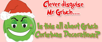 The Grinch Christmas Tree Ornaments by Grinch Christmas Decorations