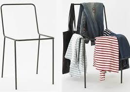 sacrificial chair stuhl ohne sitzfläche für deine klamotten