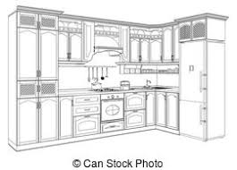Kitchen Illustrations And Clipart 181953 Royalty Free