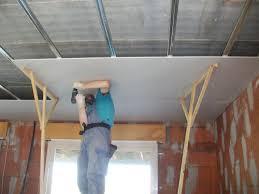 pose rail placo plafond pose des plaques de placo du plafond le de maisonanne laure