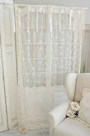 gardine vorhang store gardinenschal 130 x 300 shabby chic