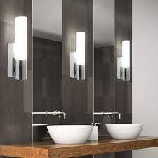 2er set wand spot strahler leuchte le licht ip44 indoor badezimmer