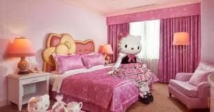 hello kitty bedroom decorating ideas for kids with hello kitty