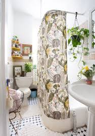 Shower Curtain Ideas For Small Bathrooms 60 Best Small Bathroom Decorating Ideas Tiny Bathroom