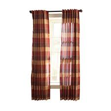 Thermalogic Curtains Home Depot by Blue And Brown Grommet Curtains Amazoncom Silkana Faux Silk