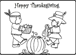 Download Thanksgiving Coloring Pages 3 Print