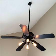 ceiling fan led bulb base edison menards ideas cabin fans