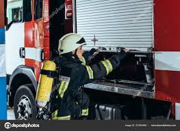 Female Firefighter Fire Extinguisher Back Closing Truck Fire Station ... Quickrelease Fire Extinguisher Safety Work Truck Online Acme Cstruction Supply Co Inc Equipment Jeep In Az Free Images Wheel Retro Horn Red Equipment Auto Signal Lego City Ladder 60107 Creativehut Grosir Fire Extinguisher Truck Gallery Buy Low Price Types Guide China 8000l Sinotruk Foam Powder Water Tank Time Transport Parade Motor Vehicle Howo Heavy Rescue Trucks Sale For 42 Isuzu Fighting Manufacturer Factory Supplier 890