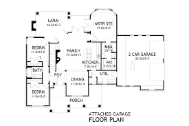 7x7 Bathroom Floor Plan by House Floor Plans With Attached Garage Homes Zone