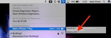 How to check iPhone battery level from a Mac CNET