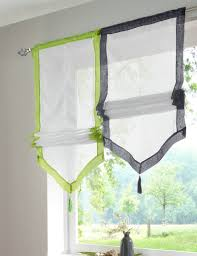 Sheer Voile Curtains Uk by New Uk Popular Stitching Colors Kitchen Balcony Voile Blinds Sheer