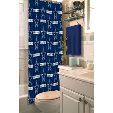Hunting Camo Bathroom Decor by Nfl Dallas Cowboys Decorative Bath Collection Shower Curtain