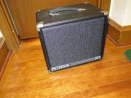 Best 1x10 Guitar Cabinet by Vintage 1990 Peterson 1x10 Speaker Cabinet P100g Jazz Amp Reverb