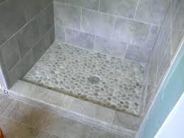 tiles river rock shower floor ideas shower tile floor designs