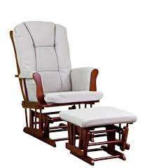 Dorel Rocking Chair With Ottoman by Amazon Com Dream On Me Charleston Glider And Ottoman Cherry Tan