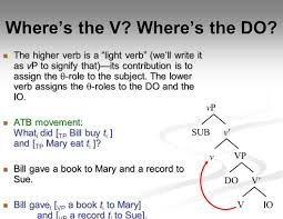 Light Verb by Week 11 Articulating The Tree Ppt Video Online Download