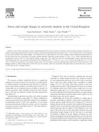 stress and weight change in university students in the united