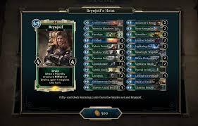 Hearthstone Beginner Decks 2017 by Heroes Of Skyrim Complete Card List Legends Decks The Elder