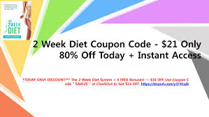 2 Week Diet Coupon Code - $21 Only | 80% Off Today + Instant ... Discounts Coupons 19 Ways To Use Deals Drive Revenue Viral Launch Coupon Code 2019 Discount Review Guide Trenzy Commercial Plan 35 Off Code Used Drive Revenue And Customers Loyalty Take Advantage Of The Prelaunch Perk With Coupon Online Store Launch Get Your Early Adopter Full Review Amzlogy Vasanti Cosmetics Canada Celebrate New Website Bar Discount