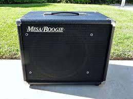 Mesa Boogie Cabinet Speakers by Mesa Boogie Thiele 1x12 Guitar Cabinet With Original 200 Watt Reverb